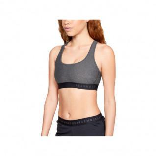 Brassière femme Under Armour Mid Crossback Heathered