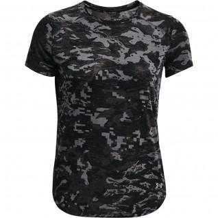T-shirt femme Under Armour à manches courtes Breeze Run