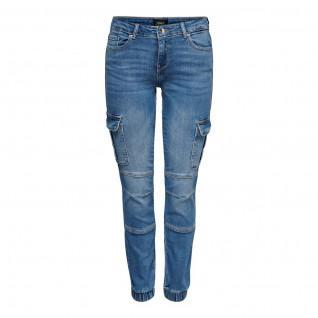 Jeans cargo femme Only Missouri life