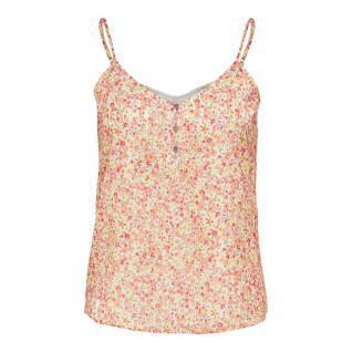 T-shirt femme Only onlmandi button
