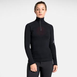 Pull femme Odlo ½ zippé I-Thermic