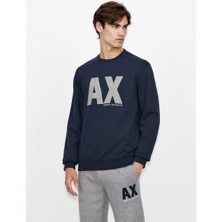 Sweatshirt col rond Armani Exchange 6KZMFG-ZJ5UZ navy