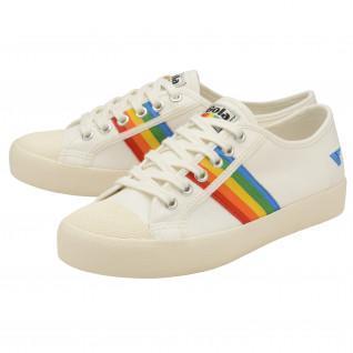 Baskets femme Gola Coaster Rainbow