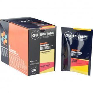 Boisson Gu Energy Roctane citron/fruits rouges (x10