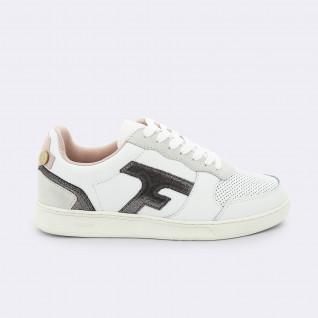 Baskets femme Faguo hazel leather suede