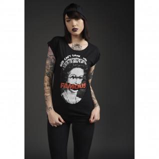 T-shirt femme Famous God can't Save
