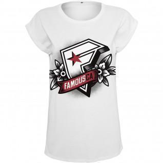 T-shirt femme Famous Famous CA