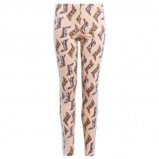 Legging fille adidas Originals All-Over Print