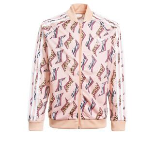 Veste fille adidas Originals All-Over Print