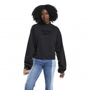 Sweatshirt femme Reebok Classics Mock Neck