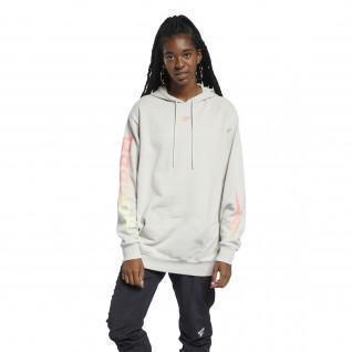 Sweatshirt à capuche femme Reebok Classics Graphic Festival