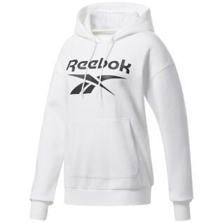 Sweat à capuche femme Reebok Identity Logo Fleece Pullover
