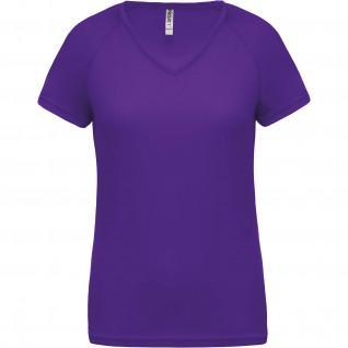 T-Shirt femme Col V Proact Sport