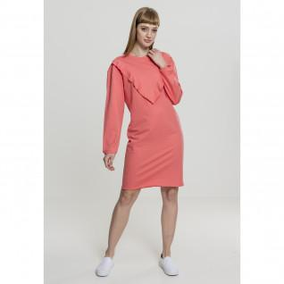 Robe femme Urban Classic terry volant