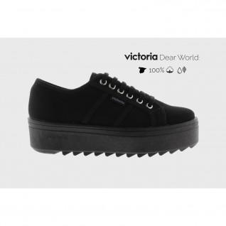 Baskets Victoria sierra toile piso negro