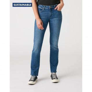 Jeans femme Wrangler Straight Air