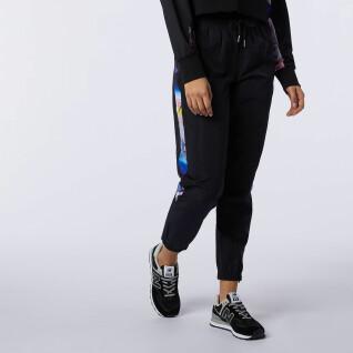 Pantalon femme New Balance athletics woven
